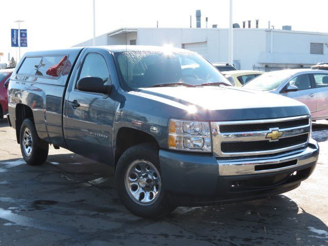 pre owned 2011 chevrolet silverado 1500 work truck. Black Bedroom Furniture Sets. Home Design Ideas